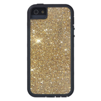 Luxury Gold Glitter - Printed Image iPhone 5 Case