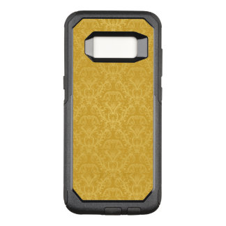 Luxury Golden Floral Wallpaper OtterBox Commuter Samsung Galaxy S8 Case