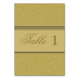 Luxury Golden Texture Elegant Gold Glitter Card