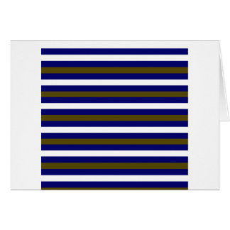 Luxury greeting with Design stripes Card