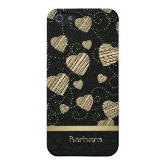 Luxury Hearts iPhone 5 Case