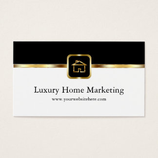 Luxury Home Marketing Business Card