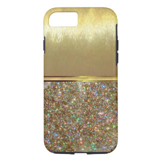 Luxury iPhone 7 Cool Shell Gold Design Case