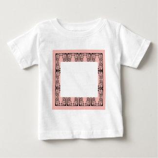 Luxury Lace vintage black Baby T-Shirt