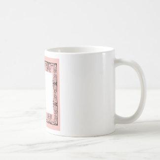 Luxury Lace vintage black Coffee Mug