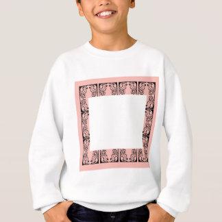 Luxury Lace vintage black Sweatshirt