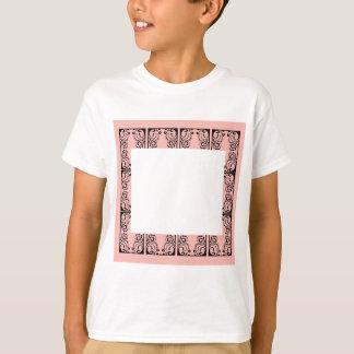 Luxury Lace vintage black T-Shirt