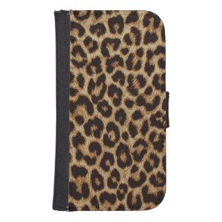 Luxury Leopard Skin Print Samsung S4 Wallet Case