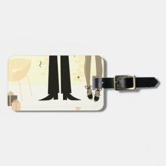 Luxury luggage price tag