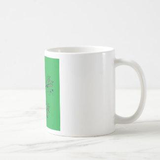 Luxury mandala art Green Coffee Mug