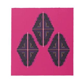 Luxury mandala Ornaments Notepad