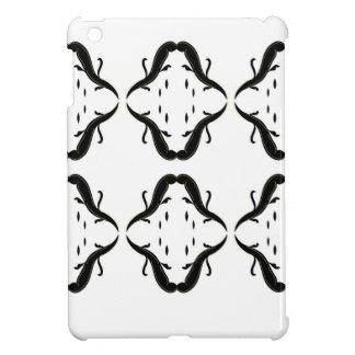 Luxury mandalas black on white case for the iPad mini