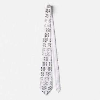 Luxury mandalas black on white tie