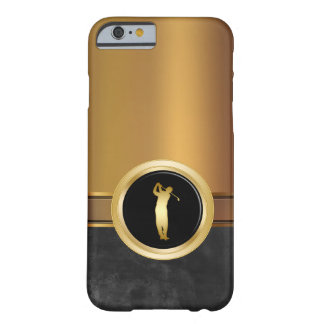 Luxury Men's Golf Theme Barely There iPhone 6 Case