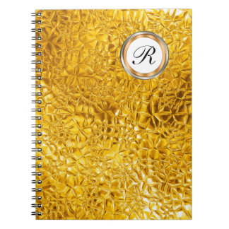 Luxury Monogram Notebook Journal