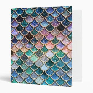 Luxury multicolor Glitter Mermaid Scales Binders