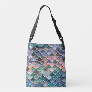 Luxury multicolor Glitter Mermaid Scales Crossbody Bag