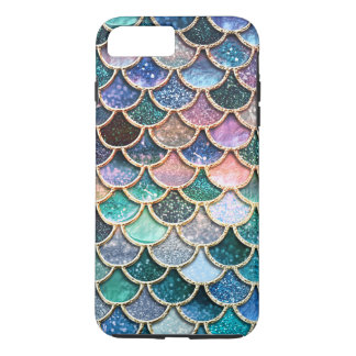 Luxury multicolor Glitter Mermaid Scales iPhone 8 Plus/7 Plus Case