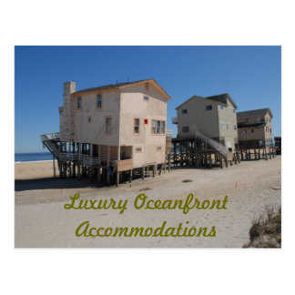 Luxury Oceanfront Accommodations Postcard