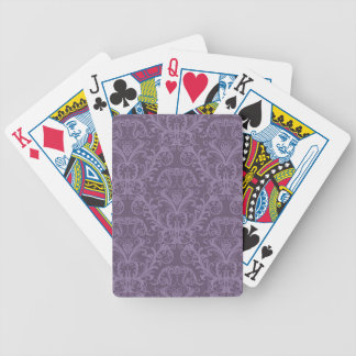 Luxury Purple Wallpaper Bicycle Playing Cards