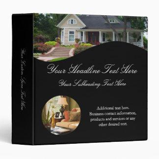Luxury Real Estate Agent Listing Binder