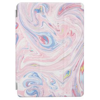 Luxury Rose Pink Marble Pastel Elegant Modern Art iPad Air Cover