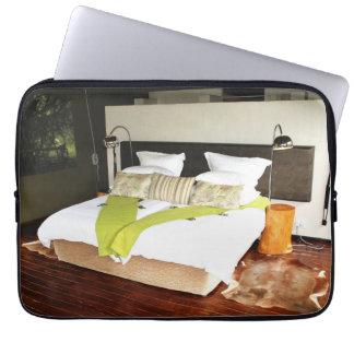 Luxury Safari Lodge Laptop Sleeve