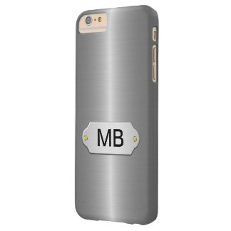 Luxury Silver Business Barely There iPhone 6 Plus Case