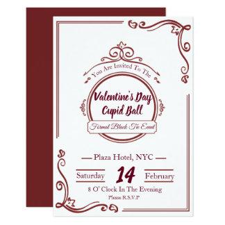 Luxury Valentines Day Invitations