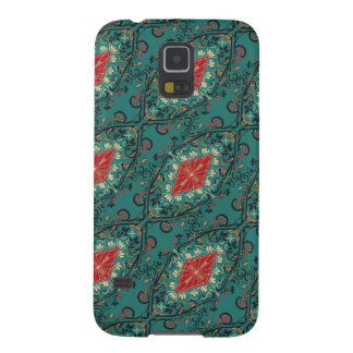 Luxury vintage royal floral pattern galaxy s5 case