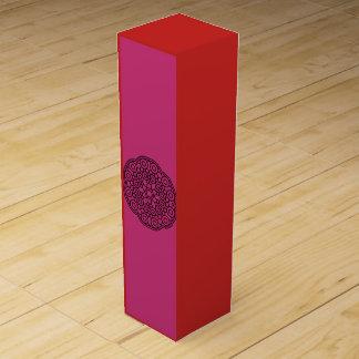 Luxury wine box : Wedding edition red