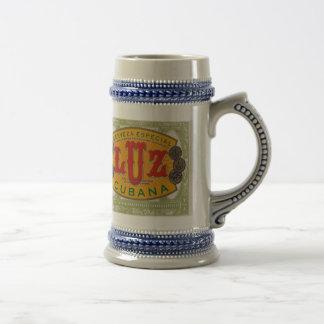 Luz Cubana Beer Stein