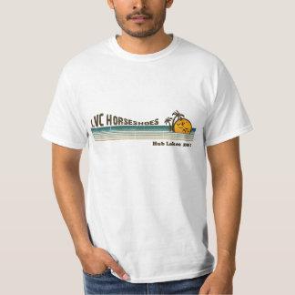 LVC Hub Lakes Horseshoes 2010 T-Shirt