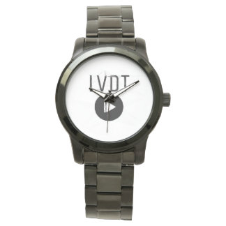 LVDT circle logo white Watches