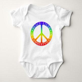 L'ville Peace Baby Bodysuit