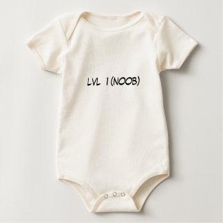 lvl  1 (noob) baby bodysuit