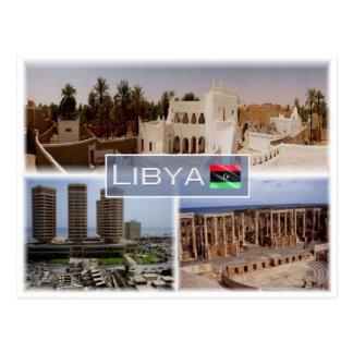 LY Libya - Postcard