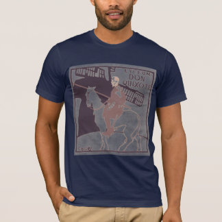 Lyceum Don Q inv navy T-Shirt