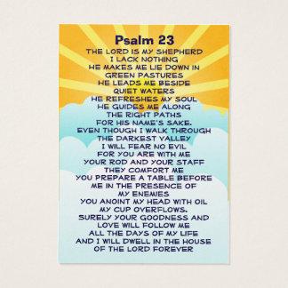 Lycheerose Psalm 23 business card