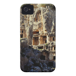 Lycian Rock-Cut Tombs Koka Temple Fronts Myra Case-Mate iPhone 4 Cases