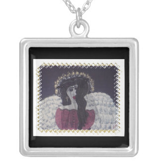 Lydezia's Angel Silver Plated Necklace