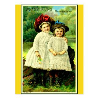 """Lydia's grandchildren"" Postcard"