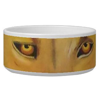 Lyin Eyes Large dog bowl