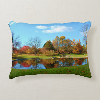 Lyle Littlefield Gardens Autumn Reflections 2015 Accent Pillow