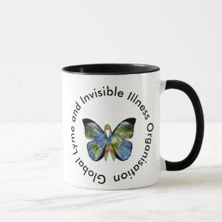 Lyme Disease and Invisible Illness Coffee Mug