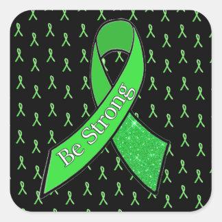 "Lyme Disease Awareness, Be Strong"" Sticker"