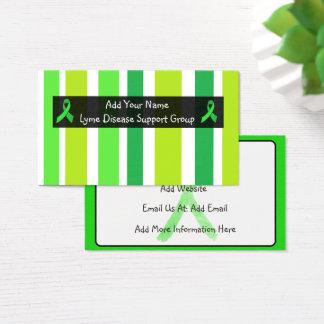 Lyme Disease Awareness Business Card