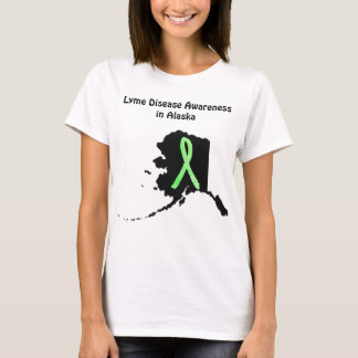 Lyme Disease Awareness in Alaska Womens Shirt