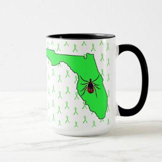Lyme Disease Awareness in Florida Coffee Mug