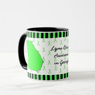 Lyme Disease Awareness in Georgia Coffee Mug